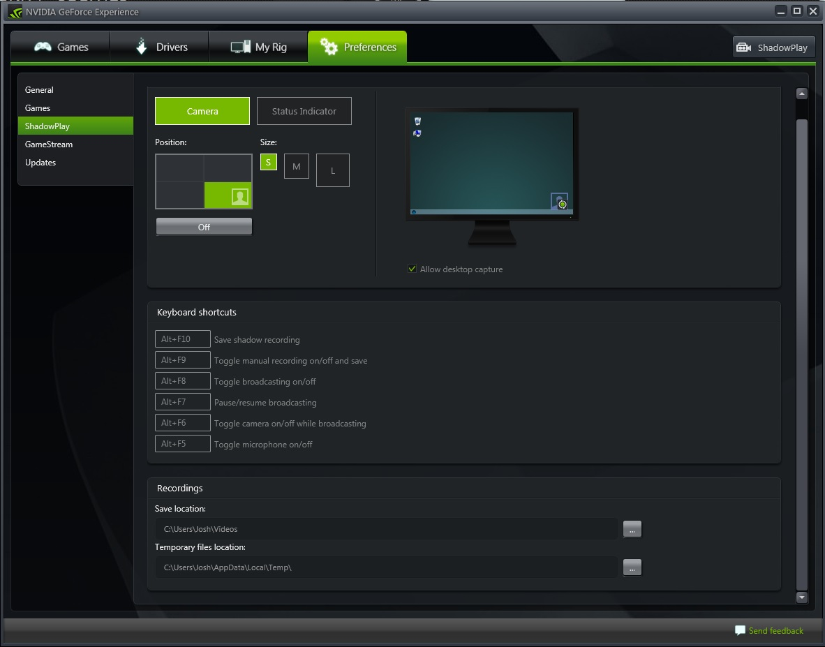shadowplay nvidia