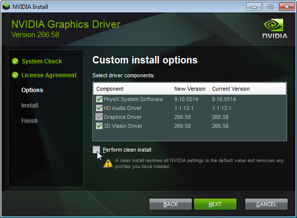 nvidia software free download for windows 7