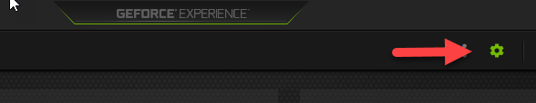 Disabling the GeForce Experience Share In-game Overlay