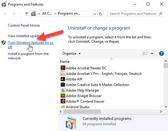 SHIELD TV: Enabling SMB 1 0 in Windows 10 to use Plex Media