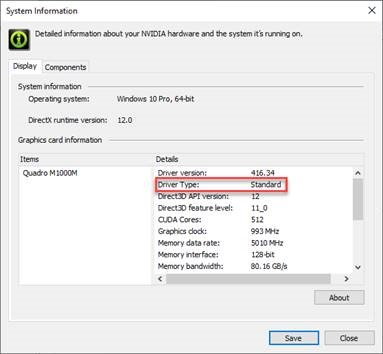 NVIDIA DCH/Standard Display Drivers for Windows 10 FAQ