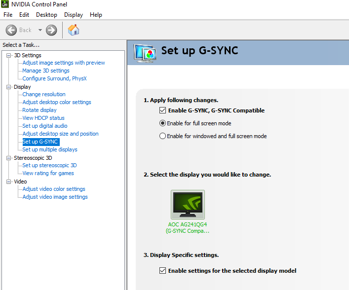 I own an Adaptive-Sync monitor that is not on your G-SYNC