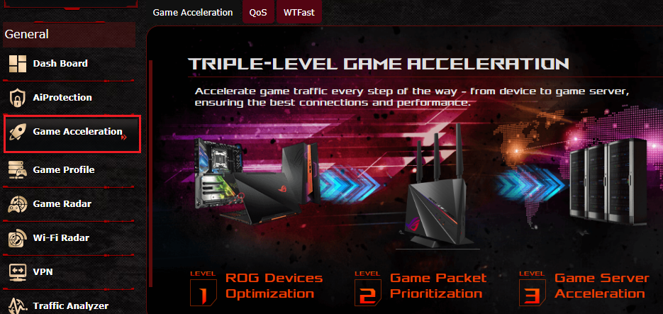 ASUS RAPTURE GT-AC2900 router setup for GeForce NOW