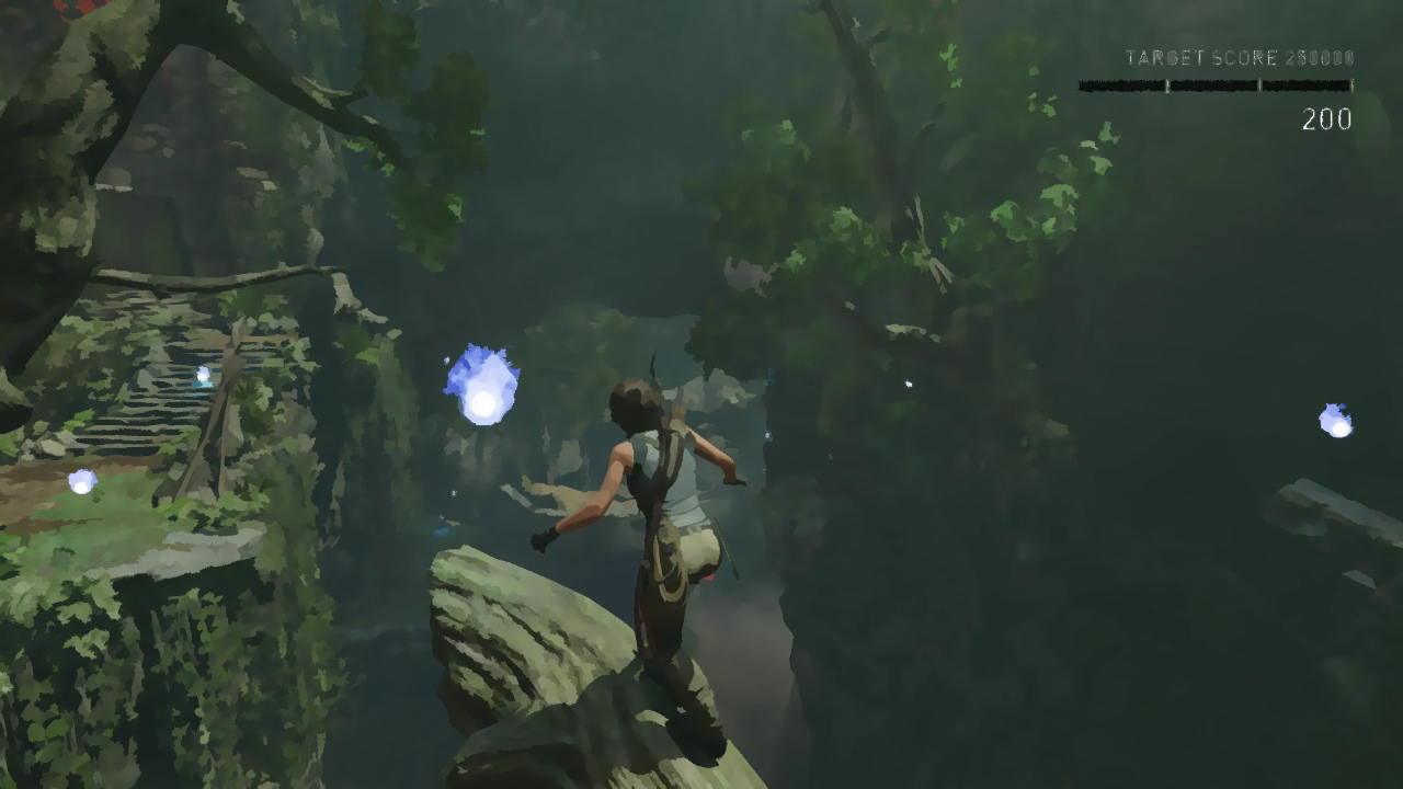 Shadow of the Tomb Raider™ using the Painterly filter